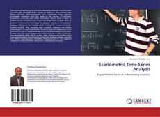Bookcover of Econometric Time Series Analysis