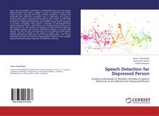 Buchcover von Speech Detection for Depressed Person