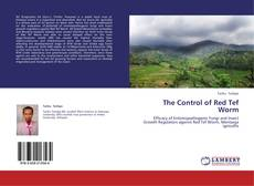 Bookcover of The Control of Red Tef Worm