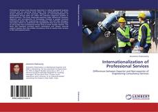 Buchcover von Internationalization of Professional Services