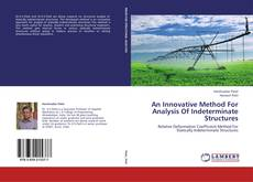 Buchcover von An Innovative Method For Analysis Of Indeterminate Structures