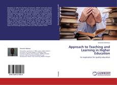 Borítókép a  Approach to Teaching and Learning in Higher Education - hoz