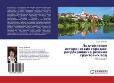 Bookcover of Подтопление исторических городов: регулирование режима грунтовых вод