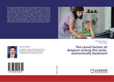 Buchcover von The causal factors of dropout among the socio-economically backward