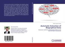 Buchcover von Automatic Extraction of Biographical Data