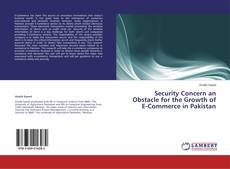 Bookcover of Security Concern an Obstacle for the Growth of E-Commerce in Pakistan