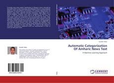 Capa do livro de Automatic Categorization Of Amharic News Text