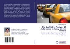 Borítókép a  The Qualitative Analysis Of Automotive Industry Cluster In India - hoz