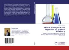 Capa do livro de Effects of Dropout and Repetition on Internal Efficiency