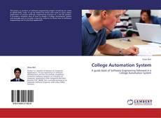 Bookcover of College Automation System