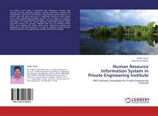 Capa do livro de Human Resource Information System in Private Engineering Institute