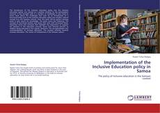 Portada del libro de Implementation of the Inclusive Education policy in Samoa