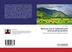 Bookcover of Manure use in tethered and zero-grazing systems