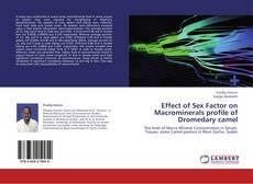 Copertina di Effect of Sex Factor on Macrominerals profile of Dromedary camel