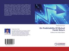 Couverture de On Predictability Of Mutual Funds Return