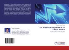 Borítókép a  On Predictability Of Mutual Funds Return - hoz
