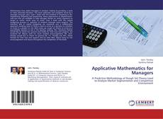 Bookcover of Applicative Mathematics for Managers