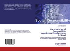 Bookcover of Corporate Social Responsibility experiences,Zimplats mine in Ngezi