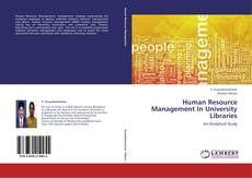 Bookcover of Human Resource Management In University Libraries