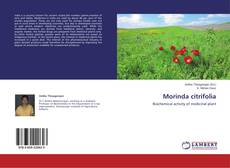 Bookcover of Morinda citrifolia