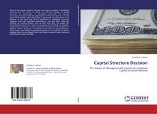 Capa do livro de Capital Structure Decision