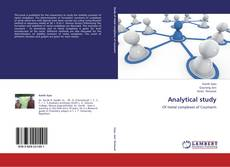 Copertina di Analytical study
