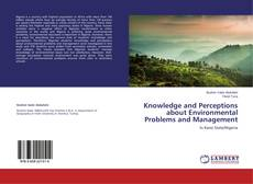 Capa do livro de Knowledge and Perceptions about Environmental Problems and Management