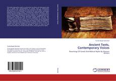 Bookcover of Ancient Texts, Contemporary Voices
