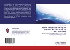 Bookcover of Social Protection Policy in Malawi: a case of social cash transfers