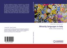 Portada del libro de Minority languages in Italy