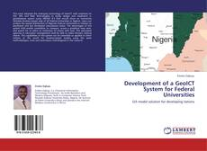 Development of a GeoICT System for Federal Universities kitap kapağı