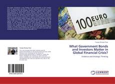 Bookcover of What Government Bonds and Investors Matter in Global Financial Crisis?