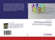 Capa do livro de Theorising participation