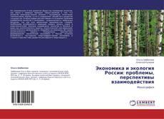 Обложка Экономика и экология России: проблемы, перспективы взаимодействия