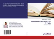 Bookcover of Women's Entreprenurship - A Study