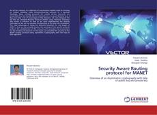 Bookcover of Security Aware Routing protocol for MANET