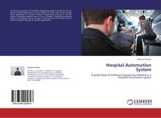 Bookcover of Hospital Automation System