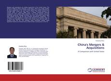 Обложка China's Mergers & Acquisitions
