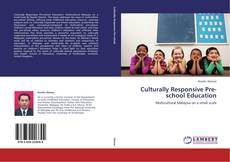 Обложка Culturally Responsive Pre-school Education