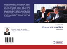 Bookcover of Mergers and acquitions