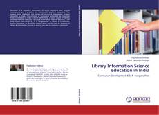 Bookcover of Library Information Science Education in India