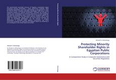 Bookcover of Protecting Minority Shareholder Rights in Egyptian Public Corporations