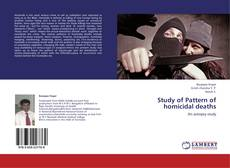 Capa do livro de Study of Pattern of homicidal deaths