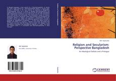 Capa do livro de Religion and Secularism: Perspective Bangladesh