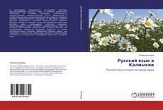 Bookcover of Русский язык в Калмыкии