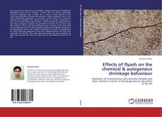 Copertina di Effects of flyash on the chemical & autogenous shrinkage behaviour