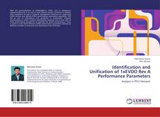 Portada del libro de Identification and Unification of 1xEVDO Rev A Performance Parameters