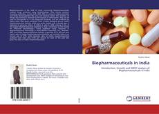 Copertina di Biopharmaceuticals in India