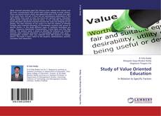 Bookcover of Study of Value Oriented Education