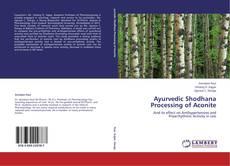 Bookcover of Ayurvedic Shodhana Processing of Aconite